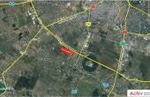 Hala moderna de inchiriat - Magurele inchiriere proprietati industriale Bucuresti sud-vest vedere din satelit