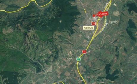 Hala Sincai 12 inchiriere spatii de depozitare Alba Iulia nord-est localizare