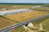 CTPark Arad inchiriere parcuri industriale Arad  sud vedere de ansamblu satelit