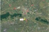 CTPark Arad inchiriere parcuri industriale Arad  sud localizare harta