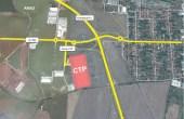 CTPark Arad inchiriere parcuri industriale Arad  sud vedere satelit