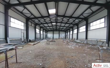 Hala moderna Magurele inchiriere spatiu depozitare bucuresti Sud-vest vedere interior hala