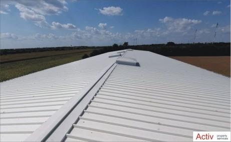 Hala moderna Magurele inchiriere spatiu depozitare bucuresti Sud-vest vedere acoperis