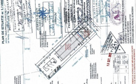 Hala moderna Magurele inchiriere spatiu depozitare bucuresti Sud-vest plan