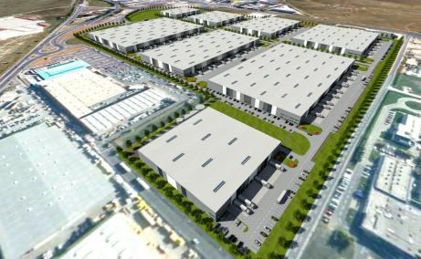 VGP Industrial Park Brasov  inchirieri spatii depozitare Brasov est vedere cladiri din satelit