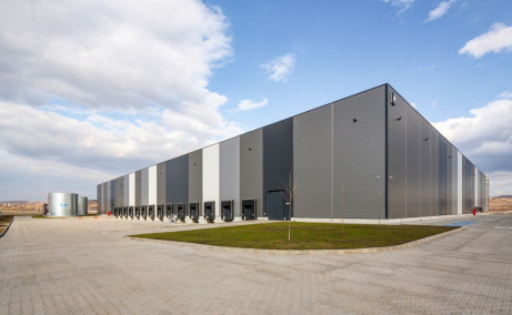VGP Industrial Park Sibiu  inchirieri spatii depozitare Sibiu vedere fatada