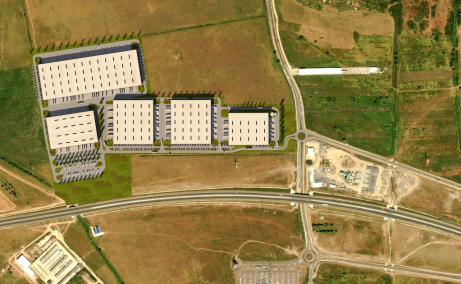 VGP Industrial Park Sibiu  inchirieri spatii depozitare Sibiu vedere satelit