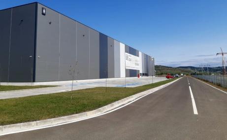 VGP Industrial Park Sibiu  inchirieri spatii depozitare Sibiu vedere fatada laterala dreapta