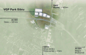 VGP Industrial Park Sibiu  inchirieri spatii depozitare Sibiu plan proprietate