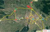 VGP Industrial Park Sibiu  inchirieri spatii depozitare Sibiu localizare harta