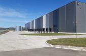 VGP Industrial Park Sibiu  inchirieri spatii depozitare Sibiu vedere fatada laterala stanga