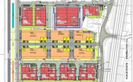 LIFTCON Mogosoaia inchiriere spatii depozitare / productie Bucuresti nord-vest plan cadastral
