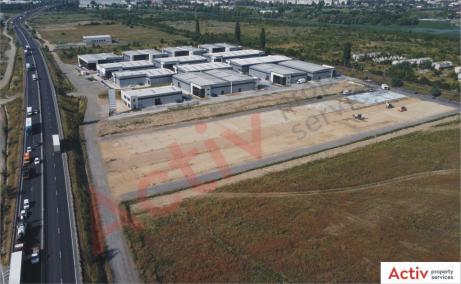 LIFTCON Mogosoaia inchiriere spatii depozitare / productie Bucuresti nord-vest vedere panoramic