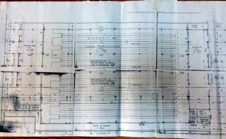 Hala Sacomet inchiriere spatiu depozitare Targu Mures plan