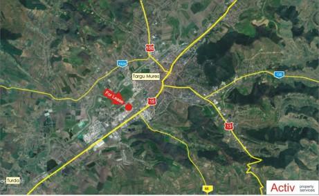 Hala Sacomet inchiriere spatiu depozitare Targu Mures vedere panoramica