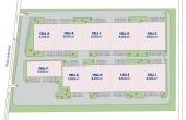 P3 Logistic Park Chitila inchiriere spatii depozitare / productie Bucuresti nord-vest plan cadastral