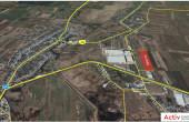 P3 Logistic Park Chitila inchiriere inchiriere spatii depozitare / productie Bucuresti nord-vest vedere satelit