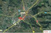 Hala Budiului 68 inchiriere spatiu depozitar Targu Mures sud vest localizare harta