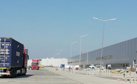CTPark Bucuresti inchiriere parcuri logistice Bucuresti vest vedere intrare