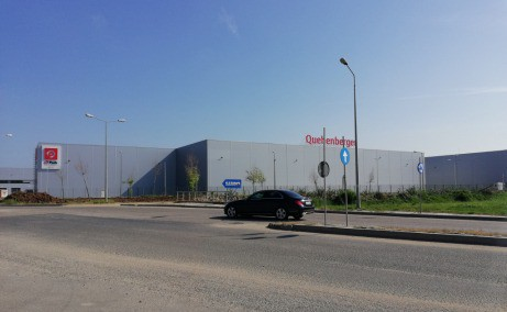 CTPark Bucuresti inchiriere parcuri logistice Bucuresti vest vedere fatada
