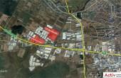 CTPark Bucuresti inchiriere parcuri logistice Bucuresti vest vedere logistica din satelit