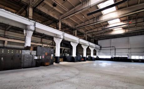 Hala industriala cu pod rulant inchiriere proprietati industriale Baia Mare est interior hala