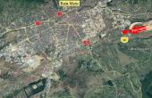 Hala industriala cu pod rulant inchiriere proprietati industriale Baia Mare est vedere satelit