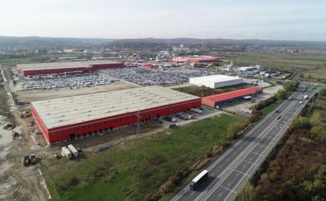 ML Logistic Parks inchiriere spatii depozitare Pitesti nord vedere ansamblu Mai 2021