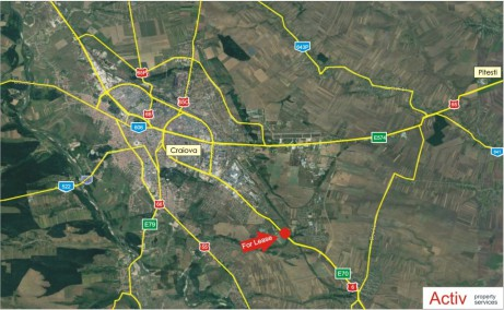 ELI Park Craiova inchiriere spatiu depozitare Craiova sud-est localizare harta