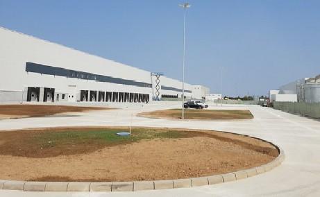 WDP Industrial Park Dragomiresti  inchiriere spatii depozitare / productie Bucuresti vest vedere laterala
