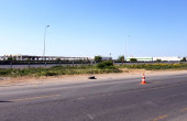 WDP Industrial Park Dragomiresti  inchiriere spatii depozitare / productie Bucuresti vest vedere strada acces