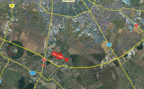 Hala Jilava - Bumbacarie Spatii de depozitare sau productie Bucuresti sud localizare harta
