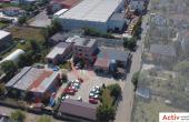 Hala industriala Pantelimon spatiu de depozitare Bucuresti est vedere drum de acces