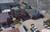 Hala industriala Pantelimon spatiu de depozitare Bucuresti est poza parcare interioara