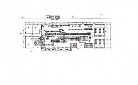 Hala de vanzare Constanta,Fabrica Productie Quartz Compozit - plan hala