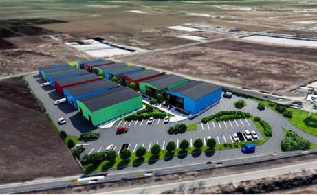 Catted Business Park inchiriere parc industrial depozitare/productie Bucuresti vest vedere ansamblu