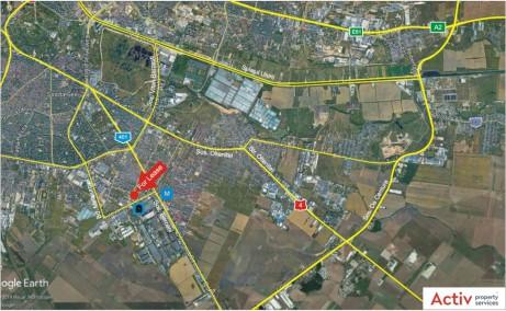 Metalurgiei 81B spatiu depozitare Bucuresti sud vedere satelit