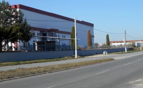 Inchiriere spatii productie si spatii depozitare Lugoj est vedere laterala