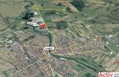 Inchiriere spatii productie si spatii depozitare Lugoj est localizare harta