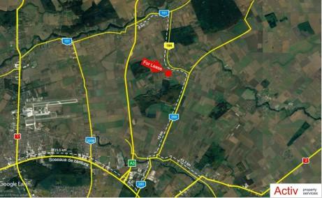 Hala Eco Lifestyle inchiriere proprietati industriale Bucuresti nord localizare google