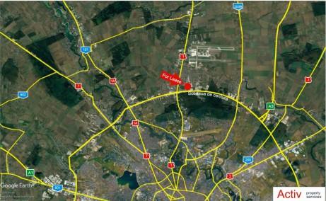 Hala Frisomat inchiriere proprietati industriale Bucuresti nord localizare map