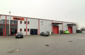 Hala Frisomat inchiriere proprietati industriale Bucuresti nord vedere curte