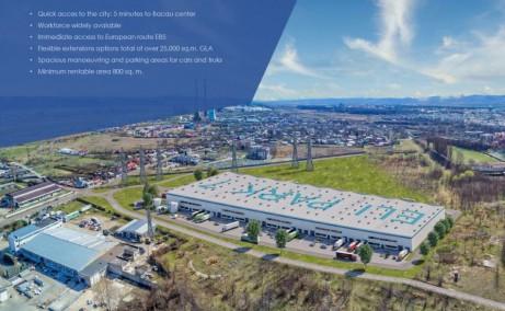 Eli Park Bacau inchiriere spatii productie si spatii depozitare Bacau sud vedere satelit
