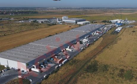 CTPark Chitila inchiriere spatiu depozitare Bucuresti nord-vest vedere laterala acces auto