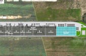 CTPark Chitila inchiriere spatiu depozitare Bucuresti nord-vest vedere din satelit suprafata