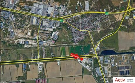 Hala Proconfort inchiriere spatii depozitare sau productie Bucuresti est localizare harta