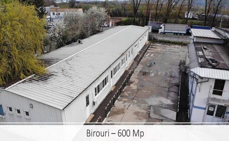 Spatii industriale Selca inchiriere proprietati industriale Pitesti sud vedere satelit spatii birouri