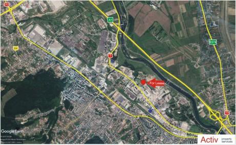 Spatii industriale Selca inchiriere proprietati industriale Pitesti sud localizare harta