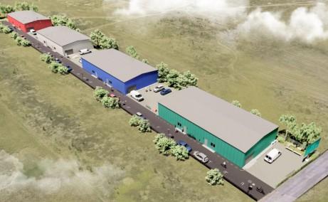 Catted Business Park Otopeni vanzare spatii depozitare sau productie, depozitare Bucuresti Nord Panoramic