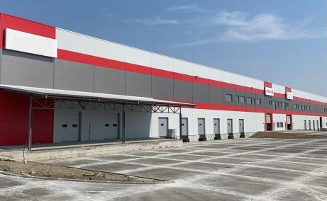 Urbano Cluj Vest  spatii depozitare si productie de inchiriat in Cluj, vest, vedere fatada laterala